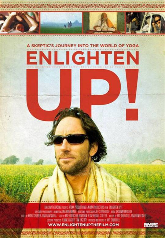 Enlighten Up! Large Poster
