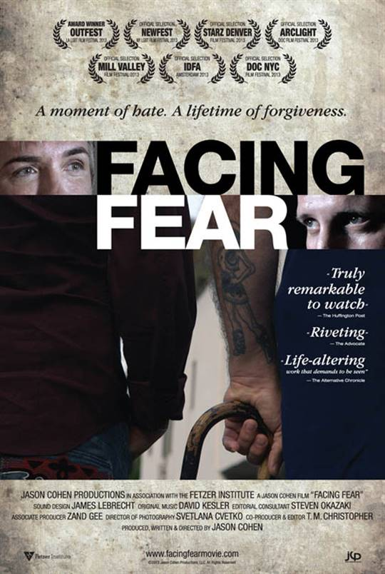 Facing Fear Large Poster