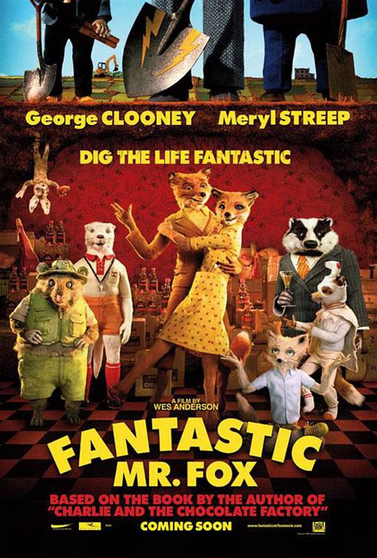 Fantastic Mr. Fox Large Poster