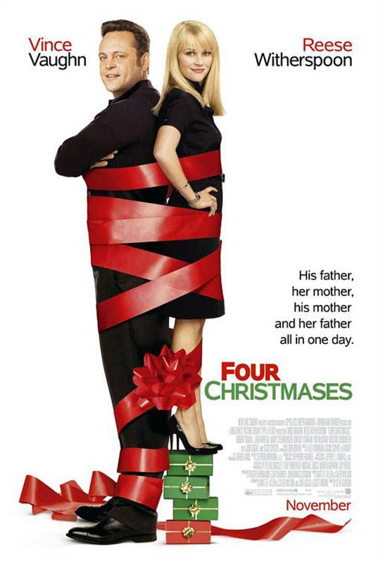 Four Christmases Large Poster
