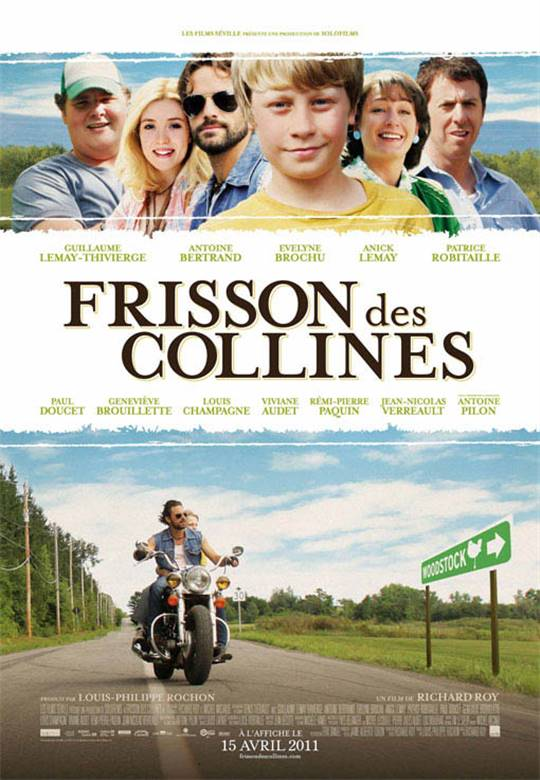 Frisson des collines Large Poster