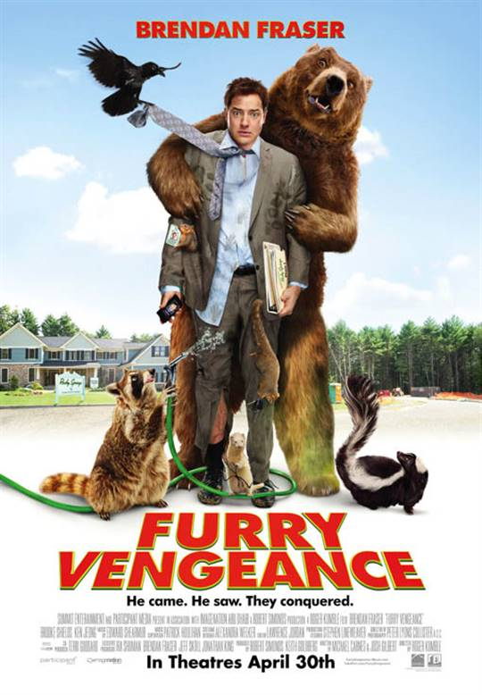 Furry Vengeance Large Poster