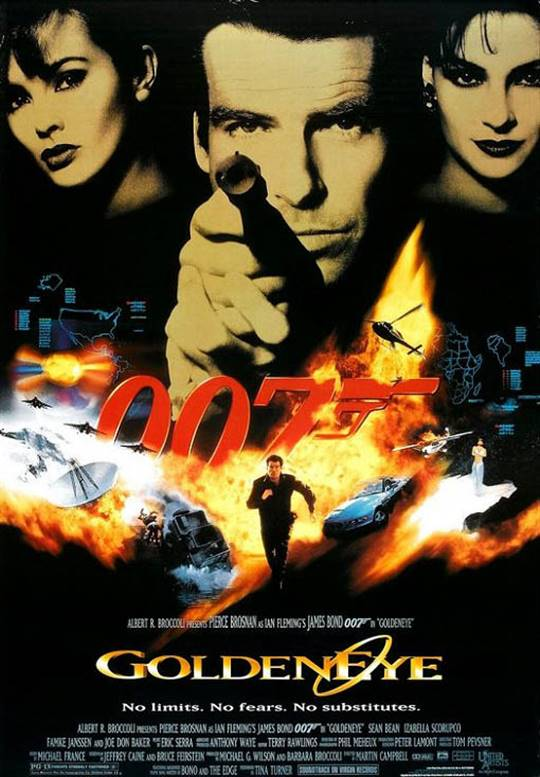 Goldeneye Large Poster