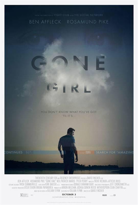 Gone Girl Large Poster