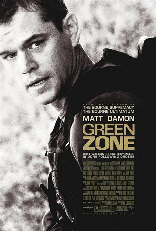 Green Zone Large Poster