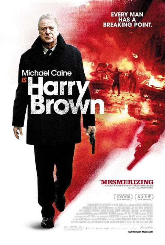 Harry Brown Large Poster