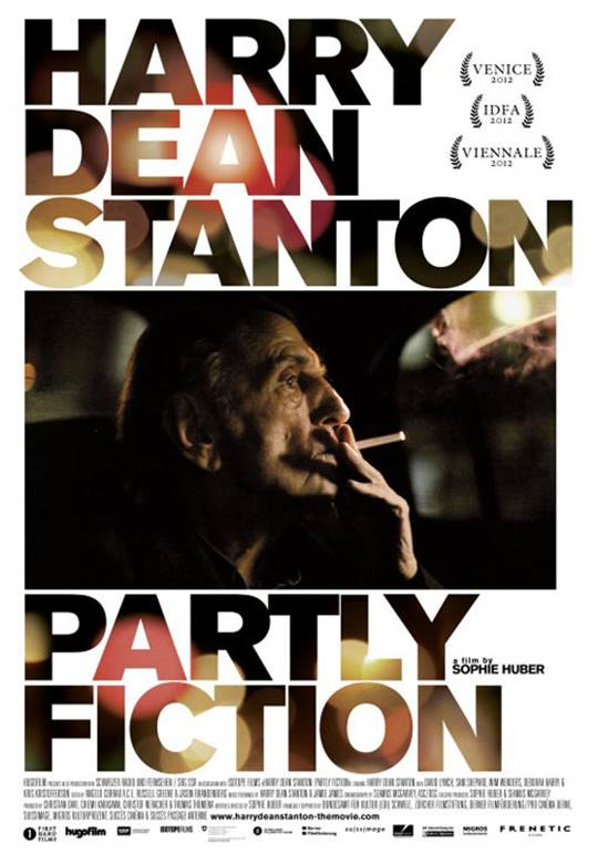 Harry Dean Stanton: Partly Fiction Large Poster