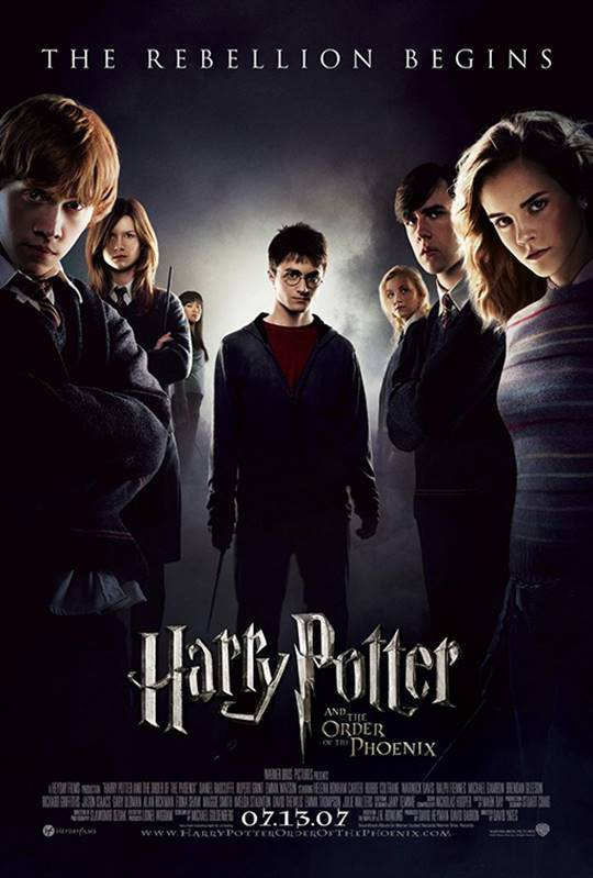 Harry Potter and the Order of the Phoenix Large Poster
