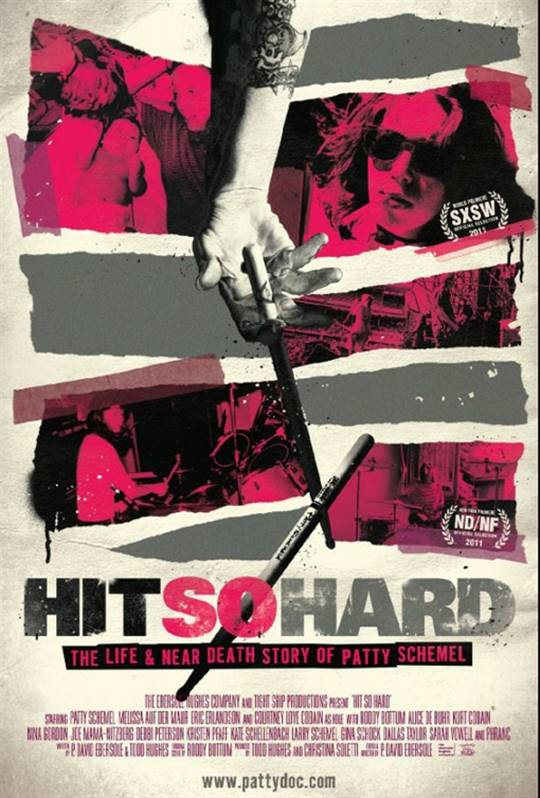 Hit So Hard Large Poster