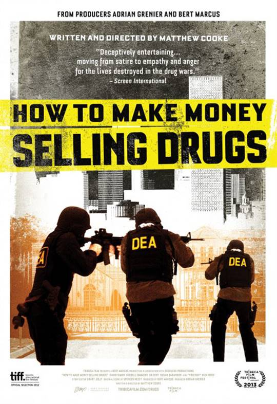 How To Make Money Selling Drugs Large Poster