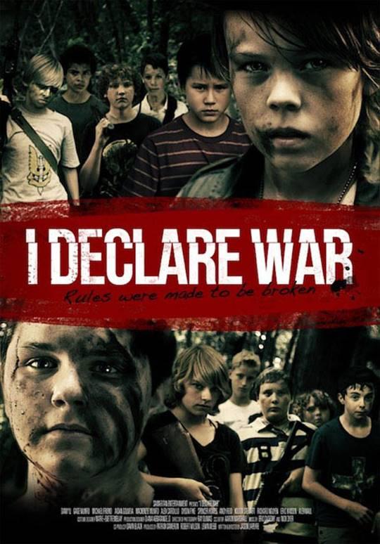 I Declare War Large Poster