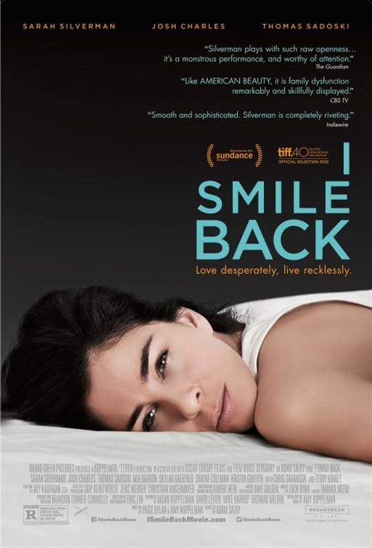 I Smile Back Large Poster
