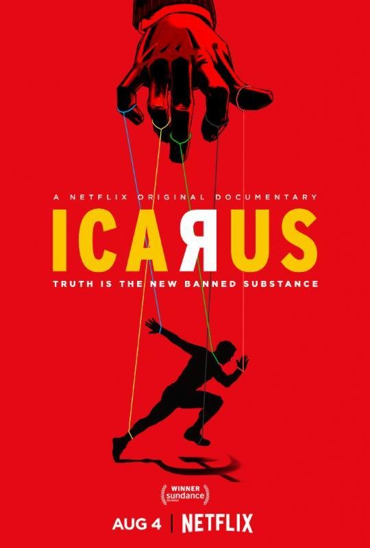 Icarus (Netflix) Large Poster