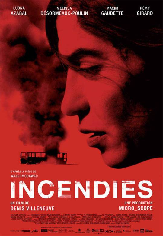 Incendies Large Poster