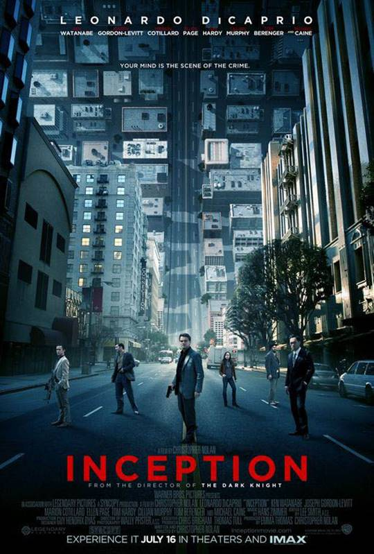 Inception Large Poster