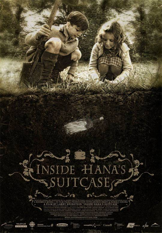 Inside Hana's Suitcase Large Poster