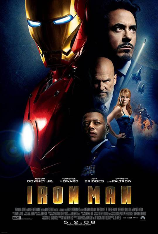Iron Man Large Poster