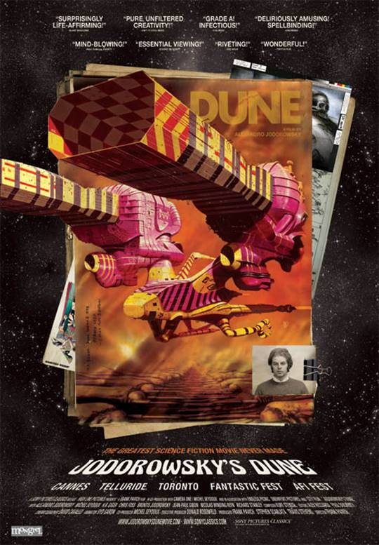 Jodorowsky's Dune Large Poster