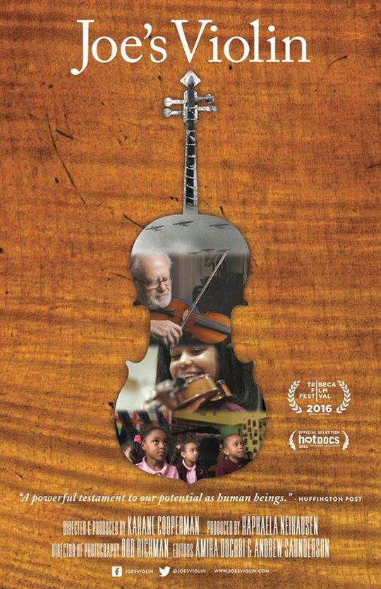Joe's Violin Large Poster