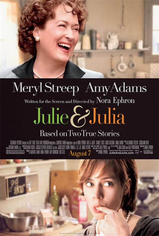 Julie & Julia Large Poster