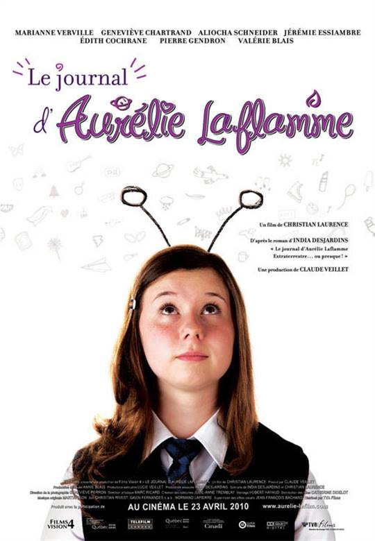 Le journal d'Aurélie Laflamme Large Poster
