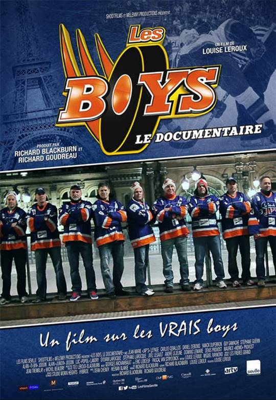 Les Boys : Le documentaire Large Poster