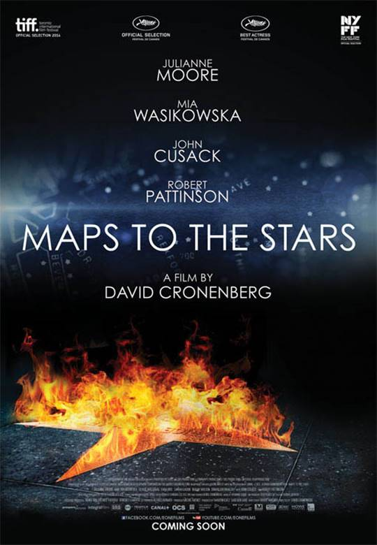 Maps to the Stars Large Poster