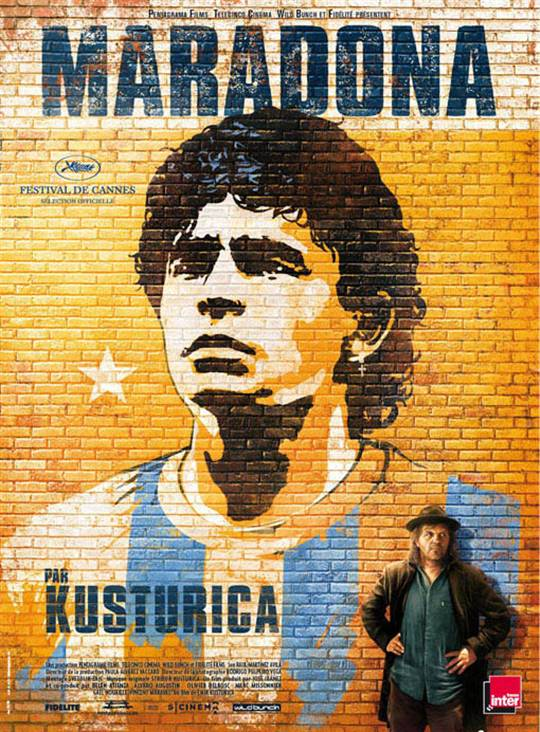 Maradona by Kusturica Large Poster