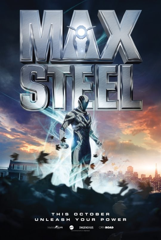 Max Steel Large Poster