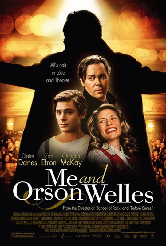 Me and Orson Welles Large Poster