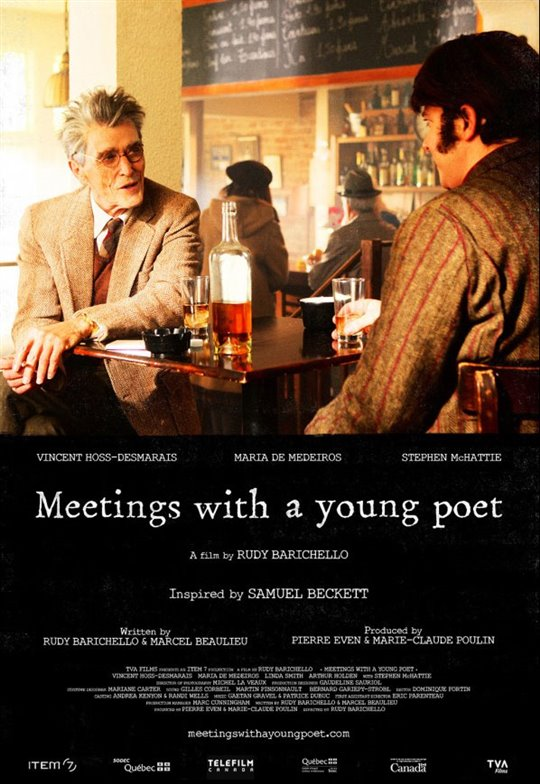 Meetings With a Young Poet Large Poster
