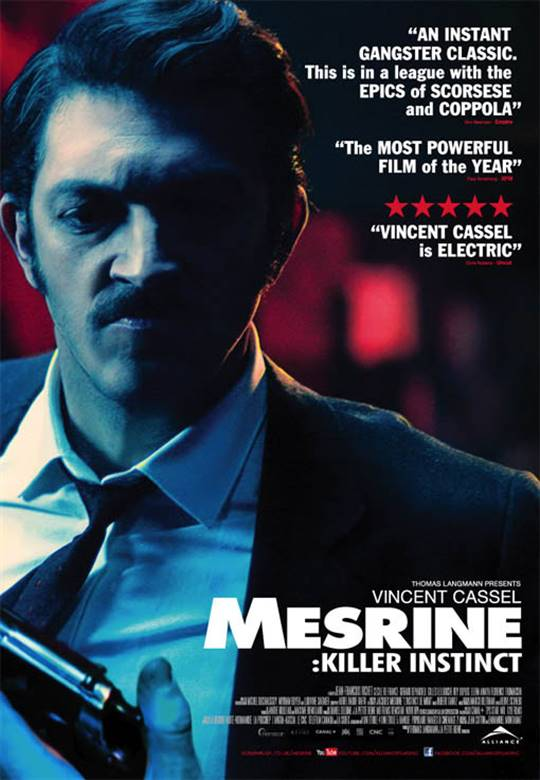 Mesrine: Killer Instinct Large Poster