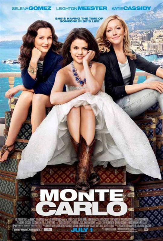 Monte Carlo (2011) Large Poster