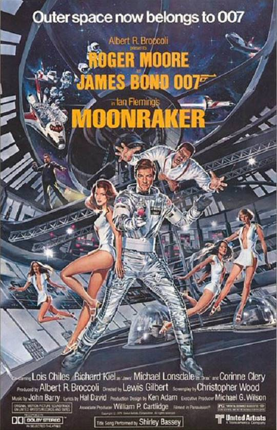 Moonraker Large Poster