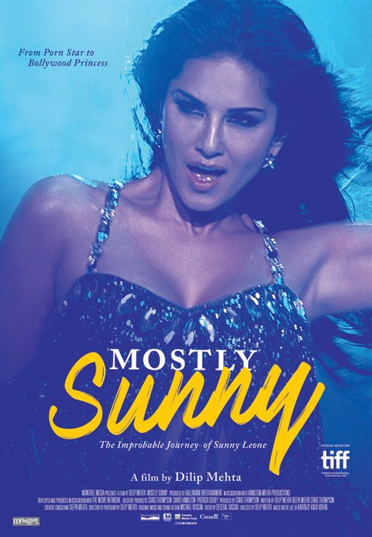 Mostly Sunny Large Poster