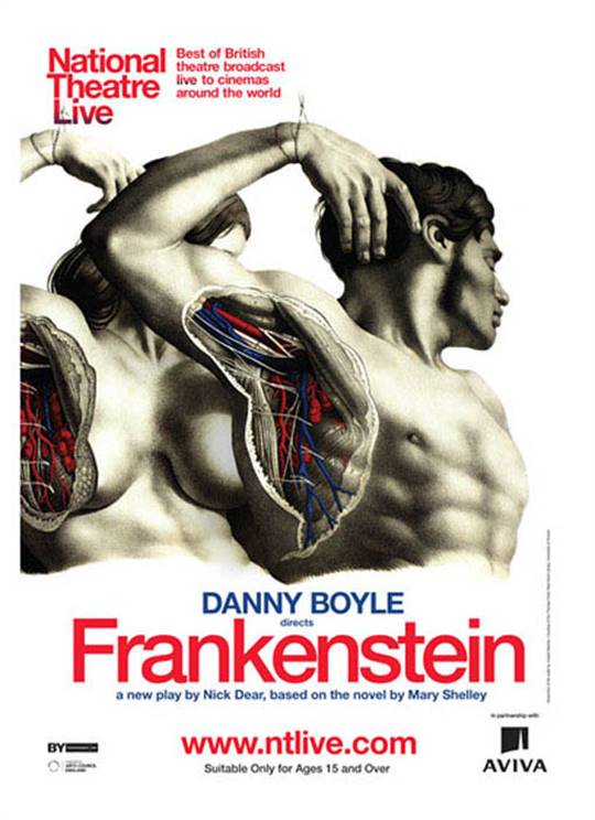 National Theatre Live: Frankenstein Large Poster