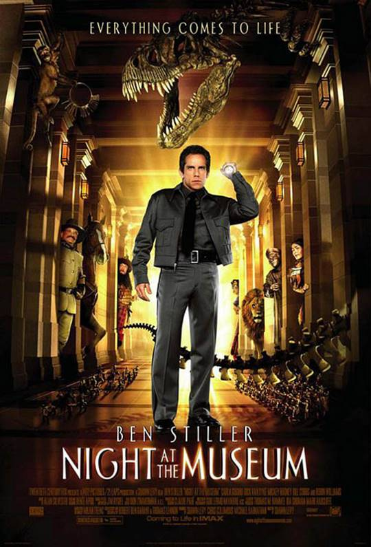 Night at the Museum Large Poster