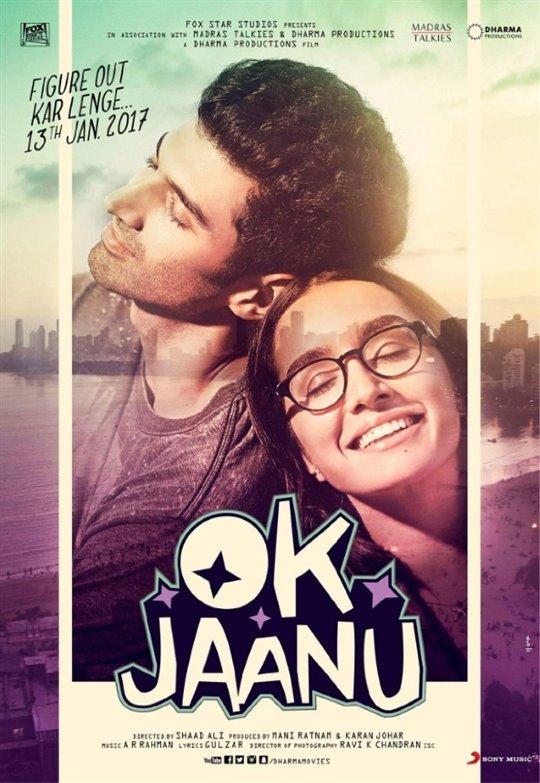 OK Jaanu Large Poster