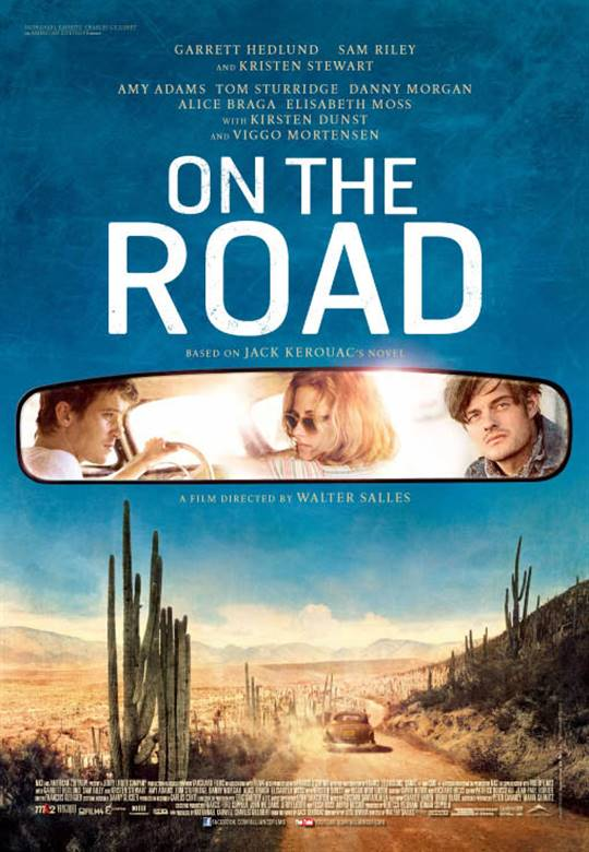 On the Road Large Poster