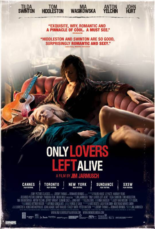 Only Lovers Left Alive Large Poster