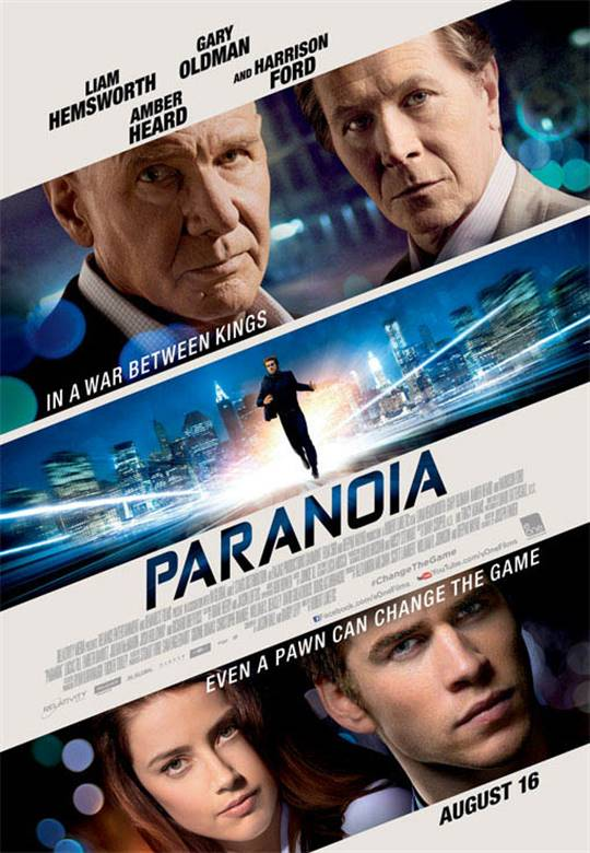 Paranoia Large Poster