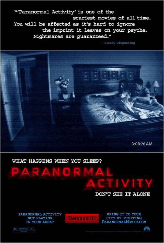Paranormal Activity Large Poster