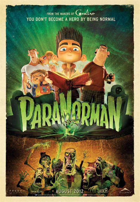 paranorman movie large poster
