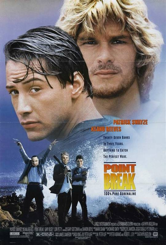Point Break (1991) Large Poster