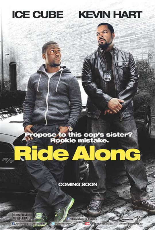 Ride Along Large Poster