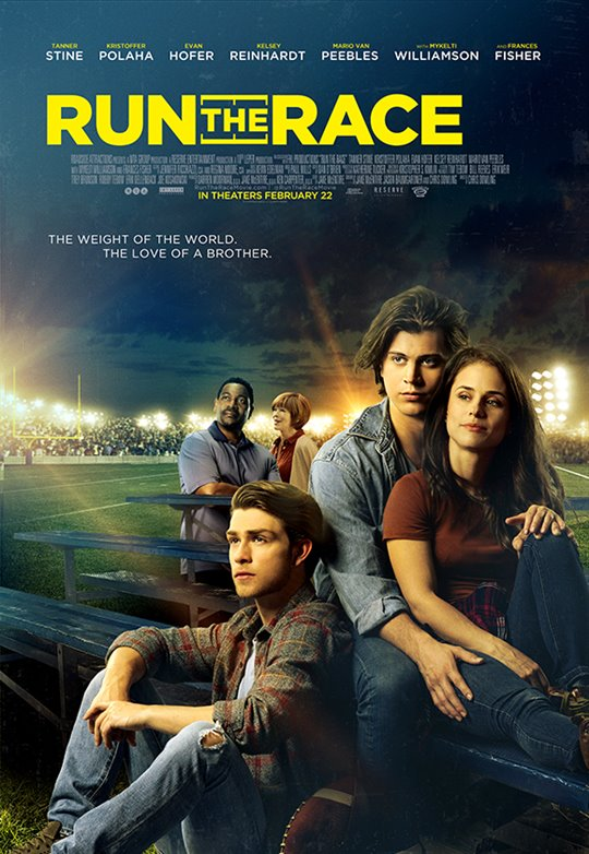 Run the Race Large Poster