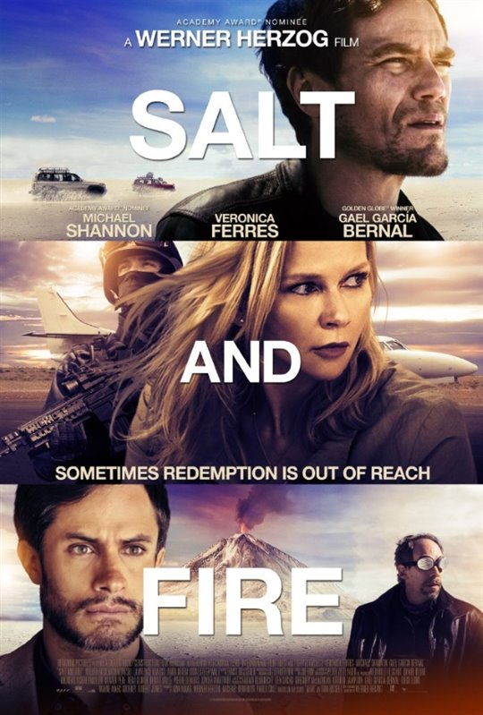 Salt and Fire Large Poster