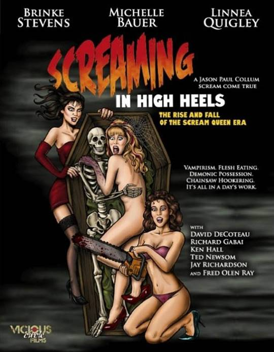 Screaming in High Heels: The Rise & Fall of the Scream Queen Era Large Poster