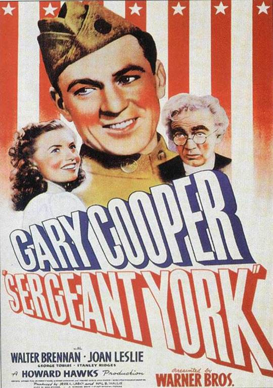 Sergeant York Large Poster