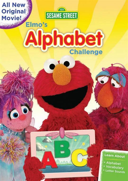 Sesame Street: Elmo's Alphabet Challenge Large Poster